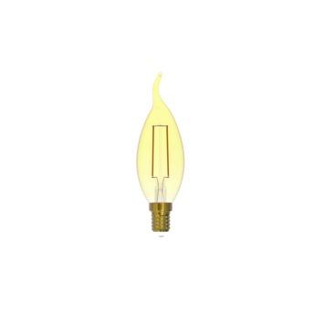 Handson LED lamp kaars tip goud E14 200 lumen