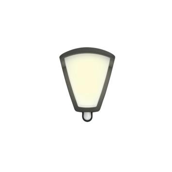 Philips wandlamp met sensor Kiskadee antraciet