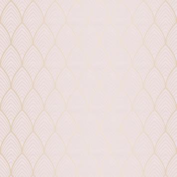 Vliesbehang Bercy roze 106369