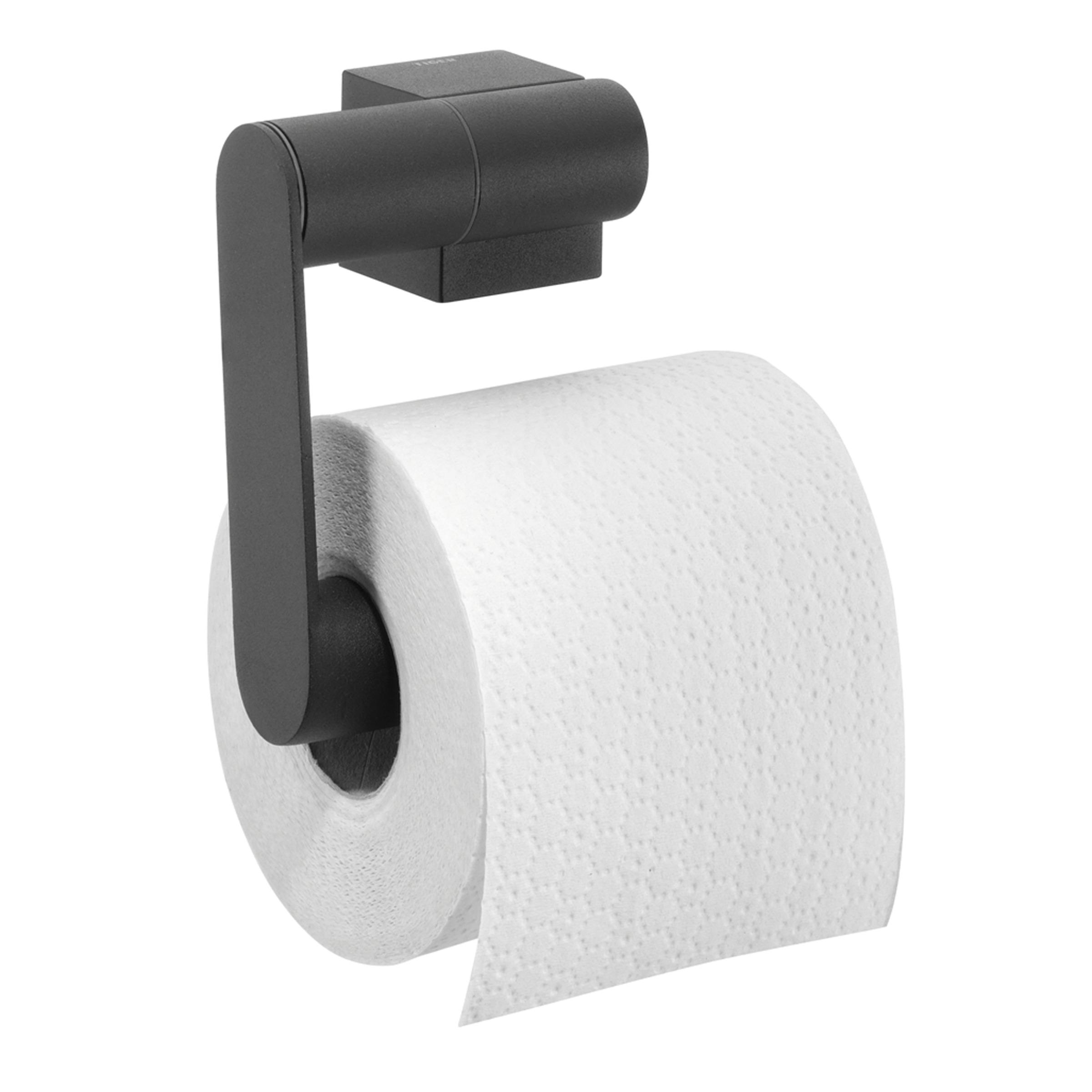 Tiger Nomad toiletrolhouder 12.5x11.5x5.5cm Metaal Zwart