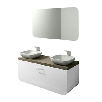 Tiger Ontario meubel spiegel wit 105 cm