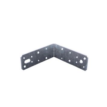 Hoekanker met Ril Verzinkt 125x125x46 mm