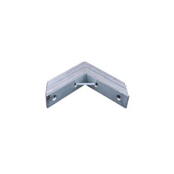 Stoelhoek Verzinkt 70x70 mm - 10 Stuks
