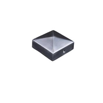 Afdekkap voor Tuinpaal aluminium 7x7 cm