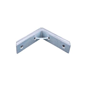 Stoelhoek Verzinkt 70x70 mm - 4 Stuks