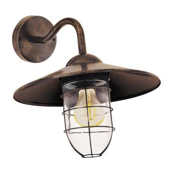ELGO wandlamp Melgoa koper