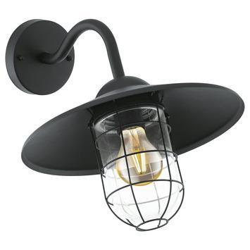 EGLO wandlamp Melgoa zwart