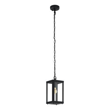 EGLO hanglamp Alamonte 1 zwart