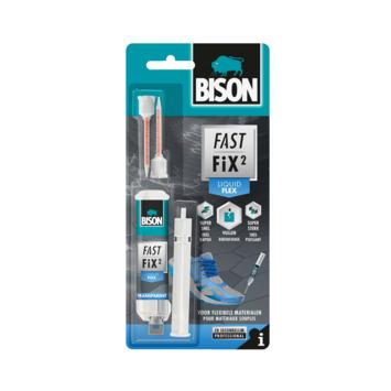 Bison fast fix² flex secondelijm 10 gram