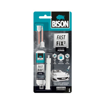 Bison fast fix² power secondelijm 10 gram