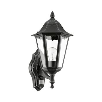 EGLO wandlamp Navedo zwart/zilver