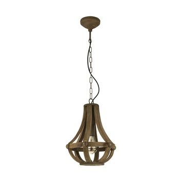EGLO hanglamp Kinross bruin