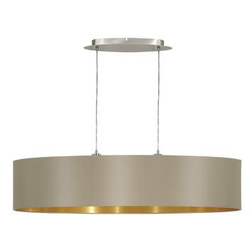 EGLO hanglamp Maserlo nikkelmat