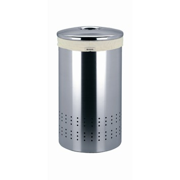 Wasbox 50 liter met deksel RVS