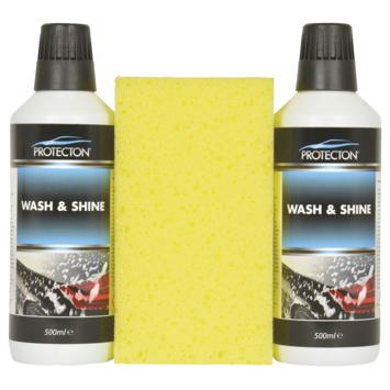 Protecton Wash & Shine shampooset