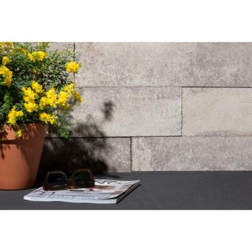 Stapelblok Beton beige nuance 60x15x15 cm - 40 Stuks