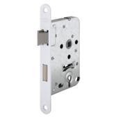 Dag- / nachtslot met aluminium slotplaat incl. kruk 56 mm