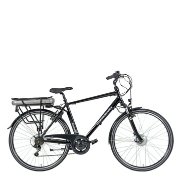 Pelikaan Advanced elektrische stadsfiets heren D6-speed voorwielmotor