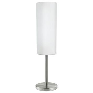 EGLO tafellamp Troy nikkelmat
