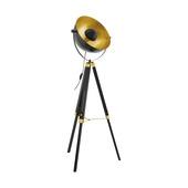 EGLO vloerlamp Covaleda zwart/goud