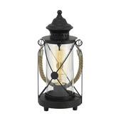 EGLO tafellamp Bradford zwart