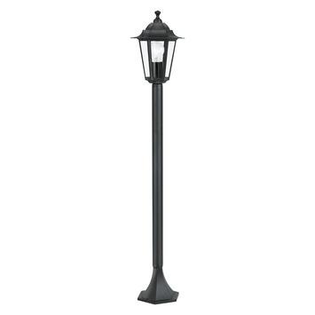 EGLO vloerlamp Laterna 4 zwart
