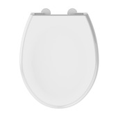 Allibert Lenti WC bril wit met softclose kunststof