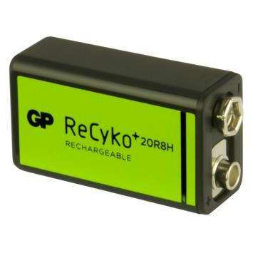 GP oplaadbare batterij 9 volt
