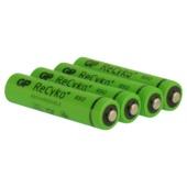 GP oplaadbare batterij AAA