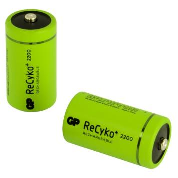 GP oplaadbare batterij C 2 stuks