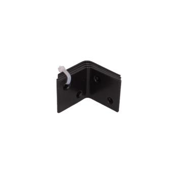 Versterkingshoek Zwart 30x30 mm - 4 stuks
