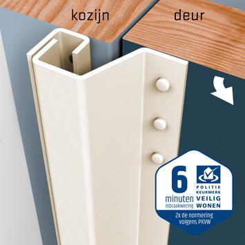 SecuStrip Plus Anti-Inbraakstrip Achterdeur RAL 9001 (Crème) terugligging 21-27 mm 230 cm