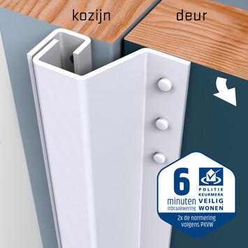 SecuStrip Plus Anti-Inbraakstrip Achterdeur RAL 9010 (Wit) terugligging 21-27 mm 230 cm