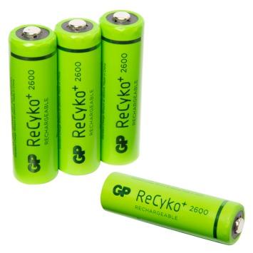 GP oplaadbare batterij AA 4 stuks