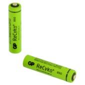 GP oplaadbare batterij ReCyko AAA 2 stuks