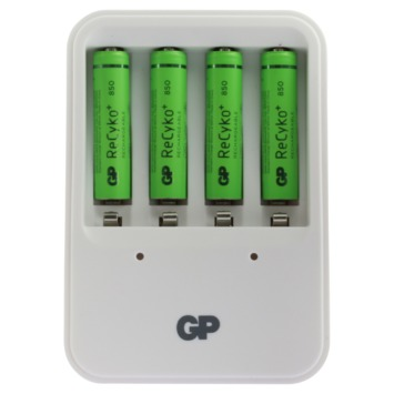 GP oplader ReCyko PB420 inclusief 4x 85AAHCC4