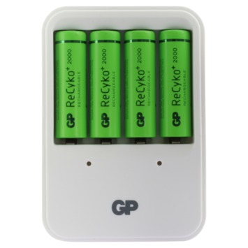 GP oplader ReCyko PB420 inclusief 4x 200AAHCC4