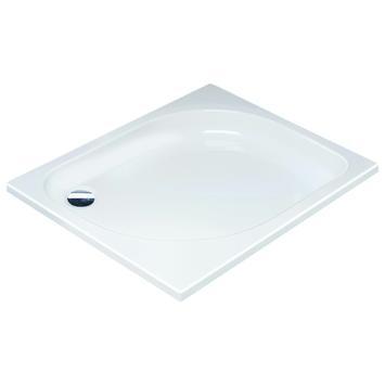 Sealskin Comfort douchebak inbouw rechthoek acryl wit 120x90 cm