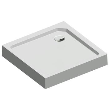 Get Wet Douchebak Fusion Vierkant Opbouw 80x80x14 cm Wit