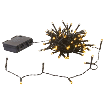 Kerstverlichting 24 LED batterij