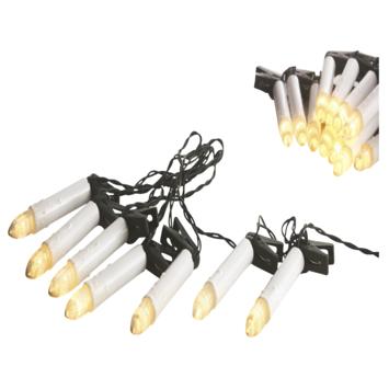 Kerstverlichting Kaars 25 lampjes led