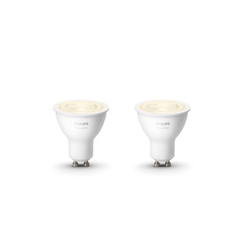 Philips Hue 5.2w gu10 2pack wit