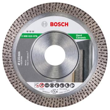 Bosch Professional diamantschijf Best for HardCeramic 115mm