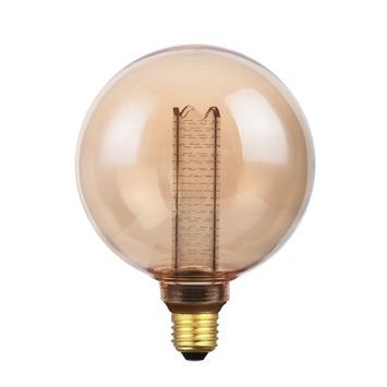 Handson E27 LED lamp globe 12,5 cm warm wit