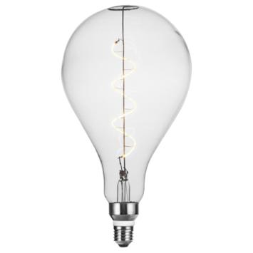 Handson E27 LED filament giant lamp 16x29 cm druppel