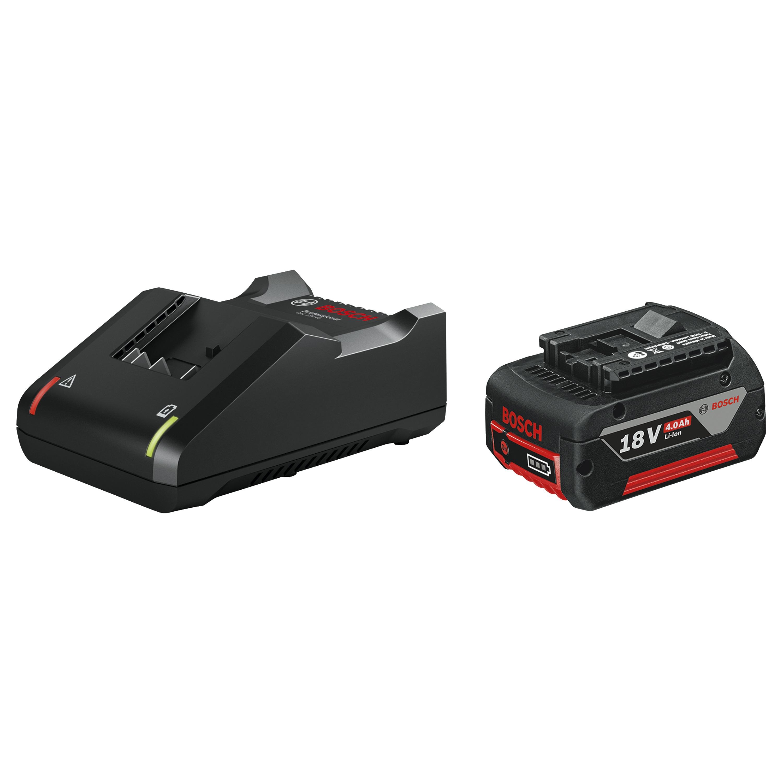 Starterset 18V BASIC met 1 accu 18V 4.0Ah + Lader GAL 18 V-40