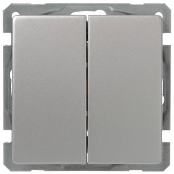 GAMMA Everest Wissel-/wisselschakelaar Aluminium