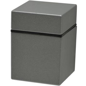 Duraline plankdrager clip cube mat zilver