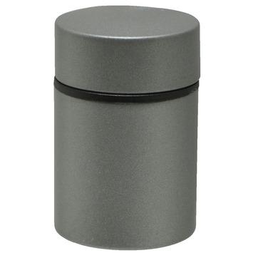 Duraline plankdrager clip mini tube mat zilver