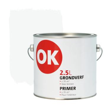 OK grondverf voor binnen wit 2,5 liter